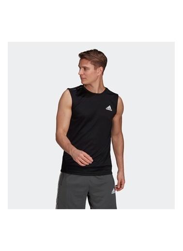 adidas Adidas Erkek Koşu - Yürüyüş T-Shirt M 3S Tk Gm2130 Siyah